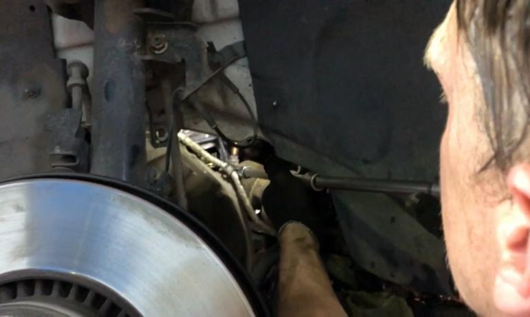 Трудности при замене турбины на Range Rover Evoque