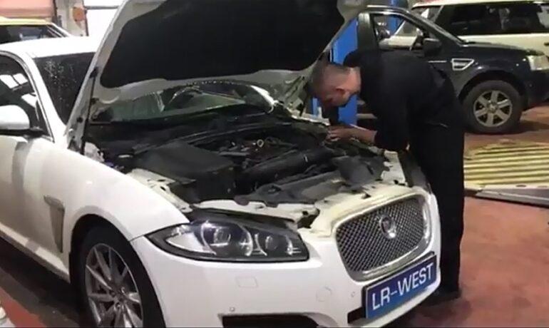 Техническое обслуживание Jaguar