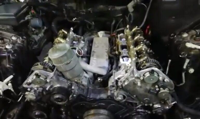 Jaguar XJ 3.0 supercharged - замена цепей