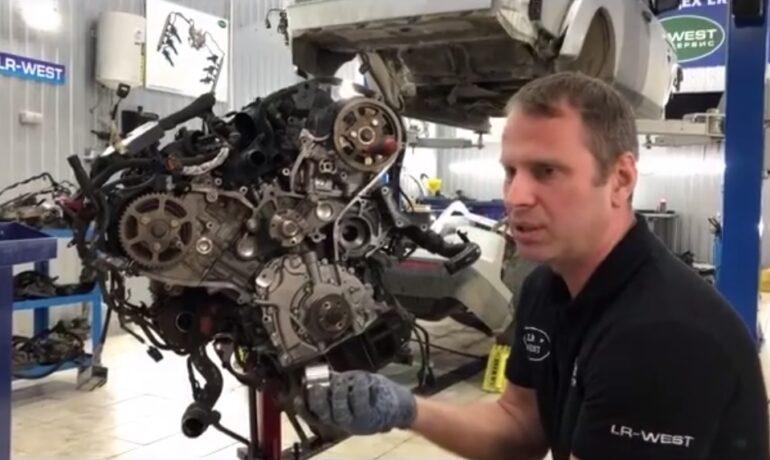 Замена ремня ГРМ на дизельном двигателе 3.0 TD – часть 3/4