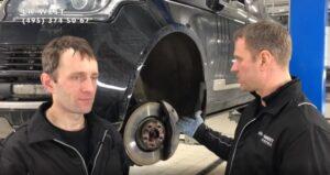 Замена передних тормозных колодок своими руками – Range Rover