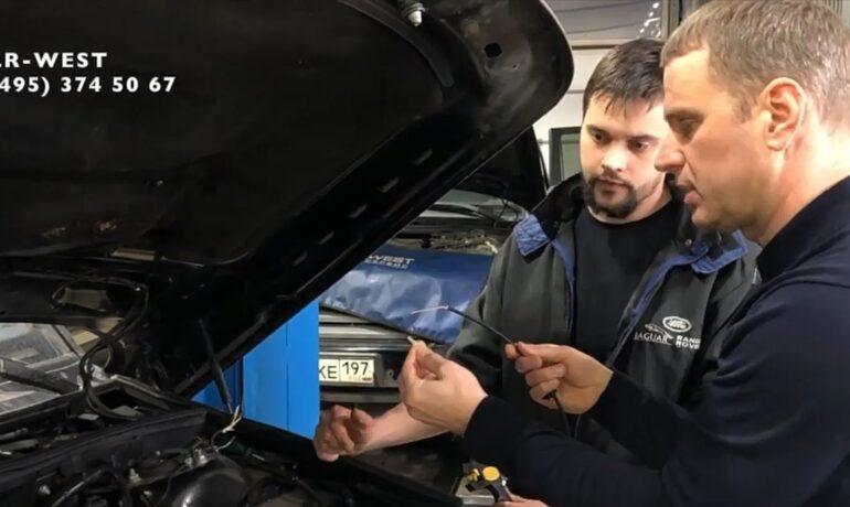Неисправности адаптивной динамической системы Range Rover - Ремонт проводки