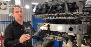 Приводные ремни на Range Rover – Дизельный двигатель 4.4 TDV8