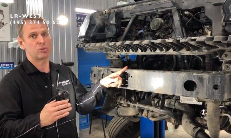 Приводные ремни на Range Rover - Дизельный двигатель 4.4 TDV8