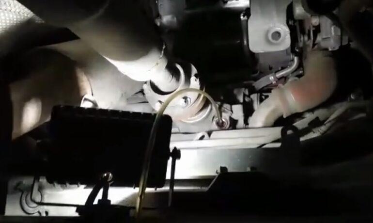 Freelander 2 - замена масла в переднем редукторе