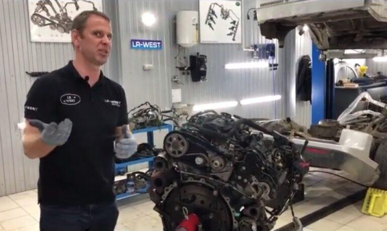 Ремень привода ТНВД на дизельном двигателе 3.0 TD - часть 3/3