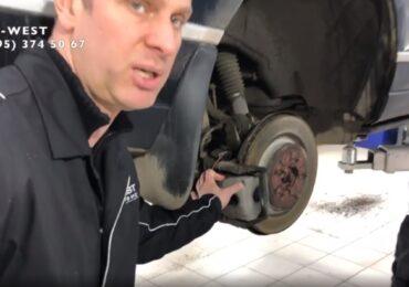 Замена задних тормозных колодок своими руками - Range Rover