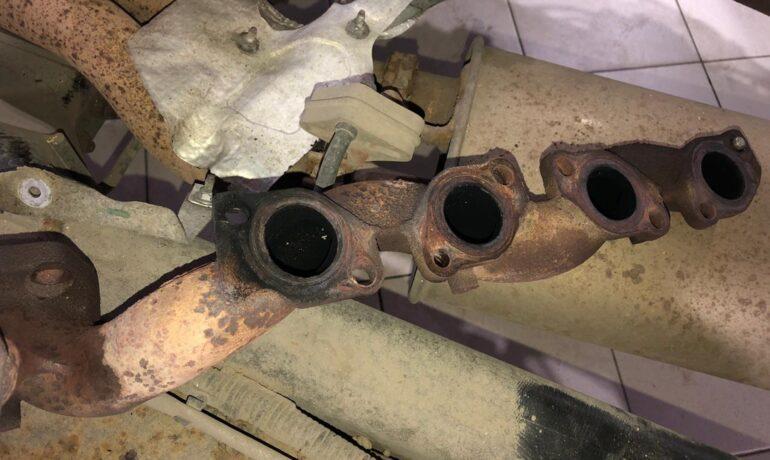 Выпускной коллекор Range Rover Sport 3.6 TDV8 - утечка выхлопных газов и посторонний свист