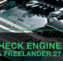 Check engine на Freelander 2?