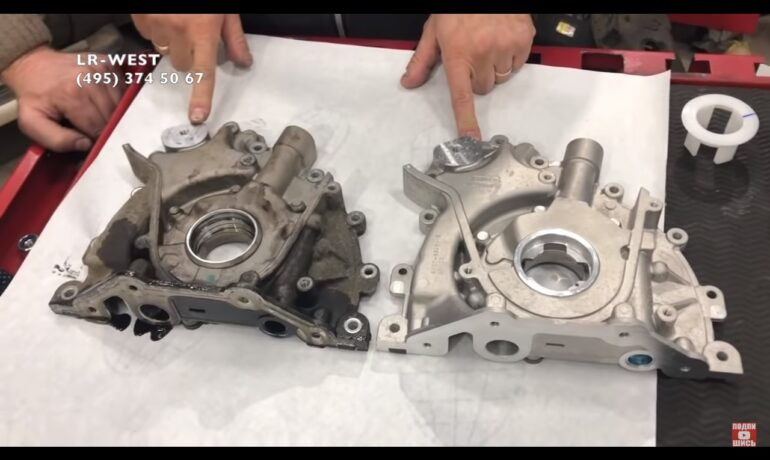 Масляный насос на Discovery 3/4 и Range Rover Sport | 2.7 TD