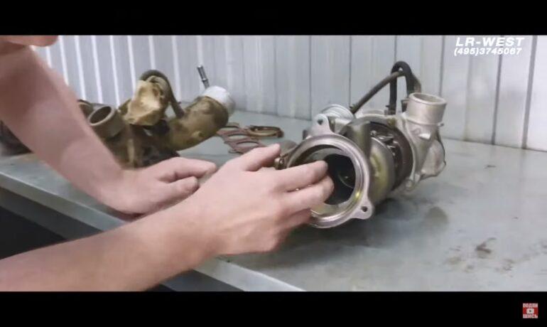 Турбина бензинового двигателя 2.0 GTDI | Freelander 2, Evoque, Discovery Sport - самая распространённая неисправность