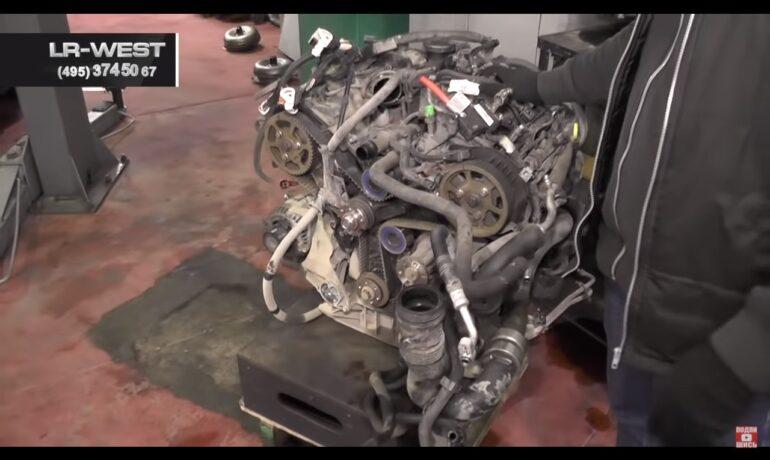 Капитальный ремонт дизельного двигателя TDV6 2.7 и 3.0 - на Discovery 4, Range Rover Sport