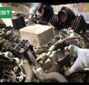 Узел клапана ЕГР и теплообменника на Range Rover 4.4 TDV8