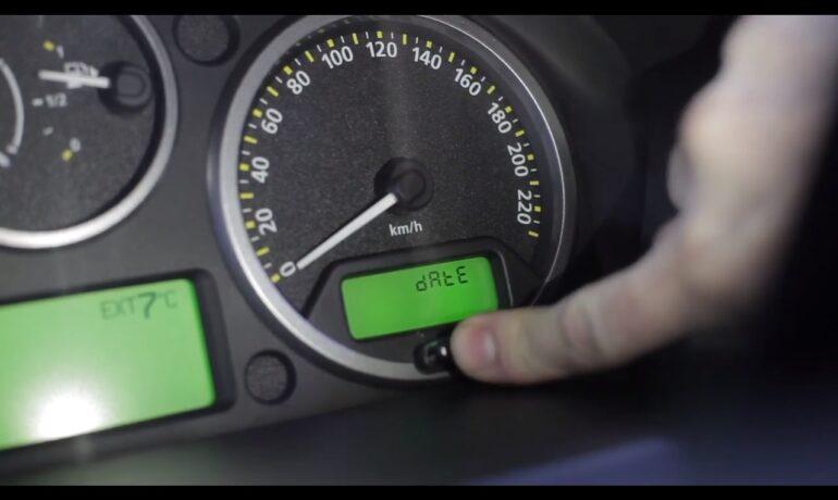 Сброс межсервисного интервала на Discovery 3 и Range Rover Sport 2005-2009 модельных годов