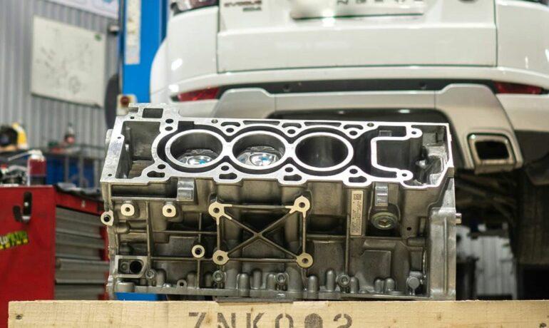 Шорт-блок двигателя 3.0 SC