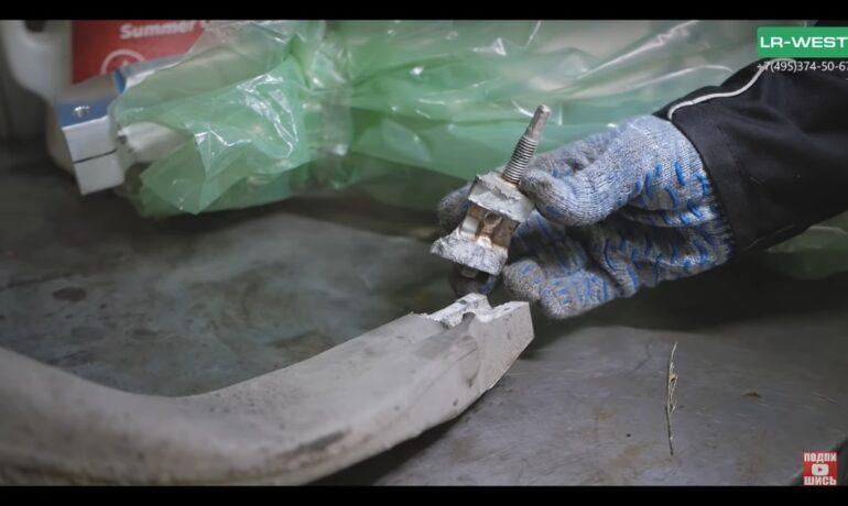 Трещины в поворотном кулаке   жизнь или ремонт за 150 000 руб.   Рендж Ровер и Рендж Ровер Спорт