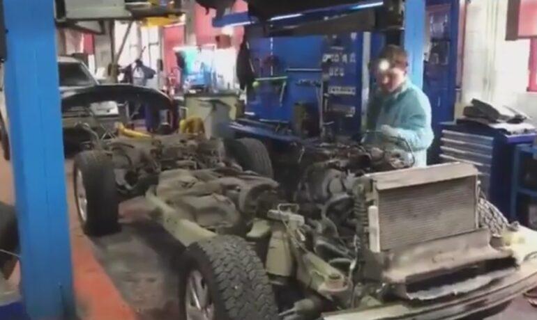 Проблема с двигателем на Land Rover Discovery