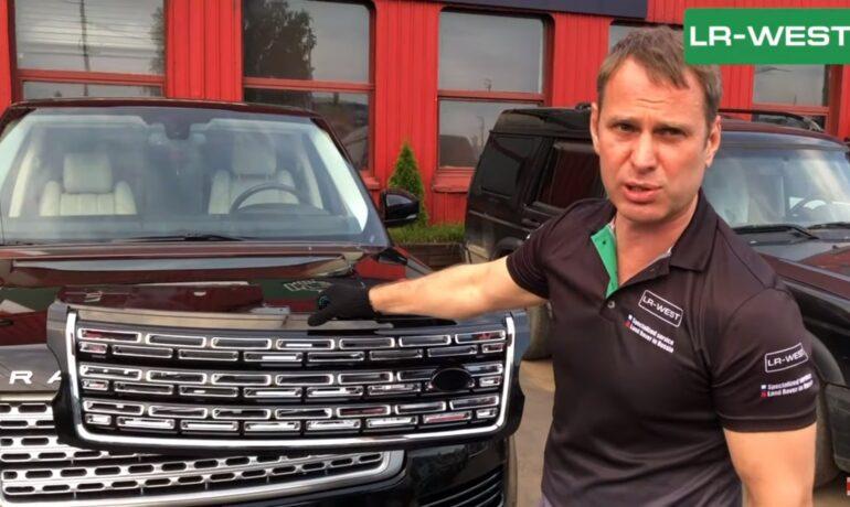 Тюнинг Range Rover | Китайские решетки SVAutobiography | Как это смотрится и сколько стоит?