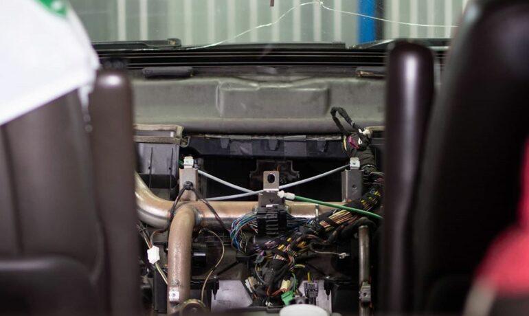 Замена моторчика отопителя на Range Rover