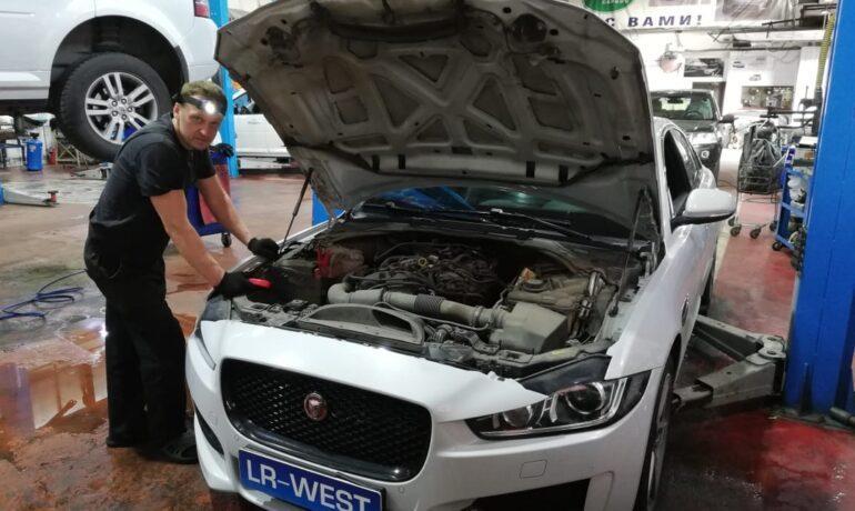 Техническое обслуживание Jaguar XE