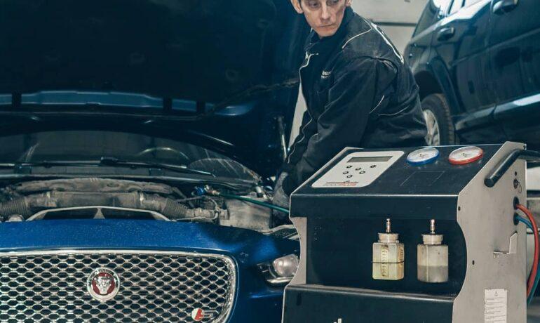 Обслуживание кондиционеров Jaguar